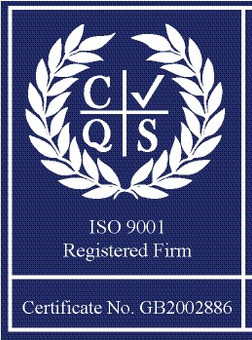 BS EN ISO 9001:2015 Certification