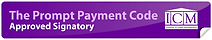 The Prompt Payment Code Logo