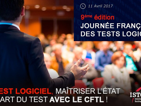 Jamo Solutions at French Testing Days Conference 2017, 11 April