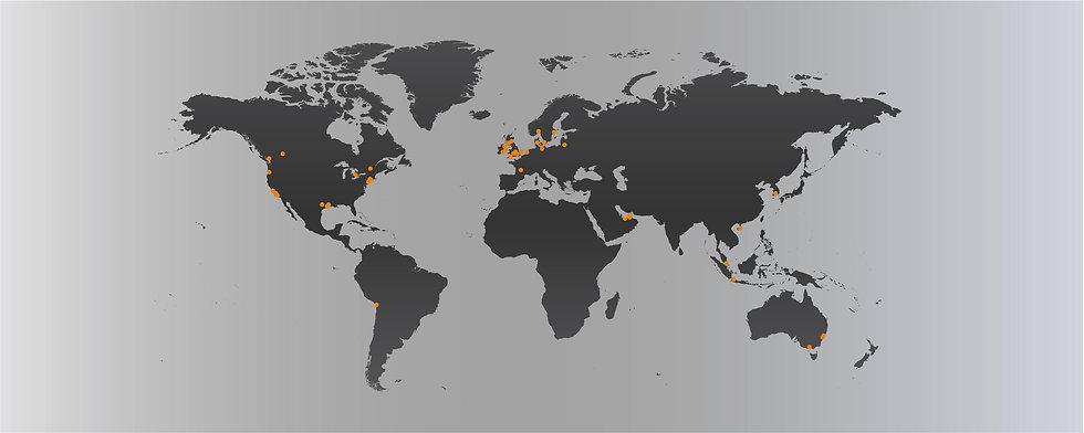 Blue Associates Sportswear Client Locations