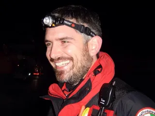 Jim on a night time Exercise