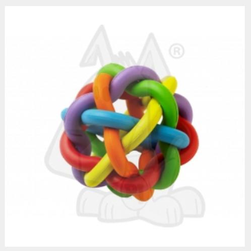 Rainbow Rubber Ball