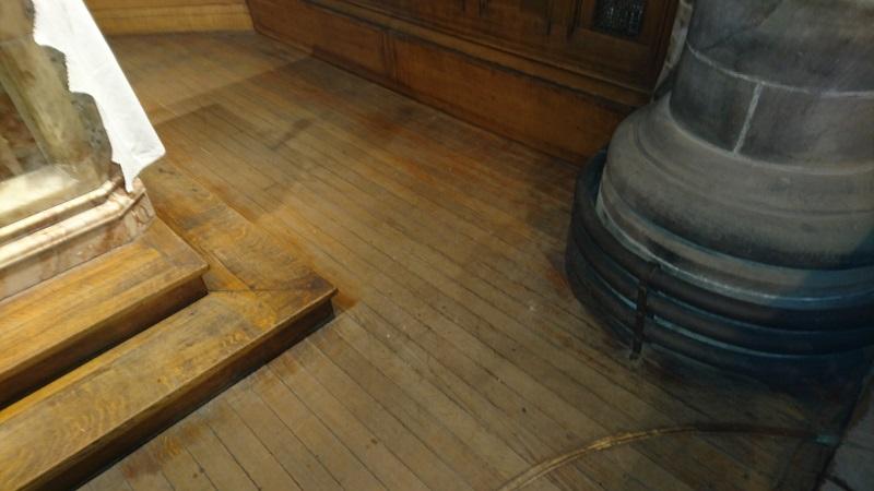 St Andrew Altar-before