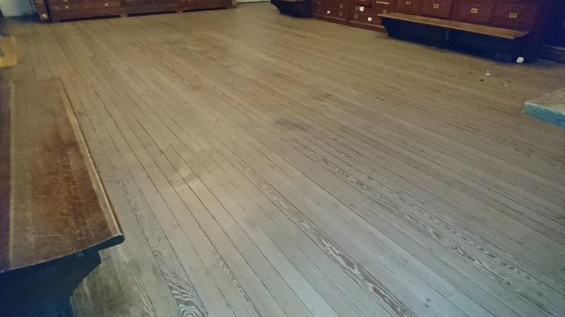 Secresty floor-before
