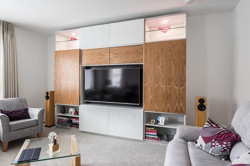 Bespoke lounge cabinet