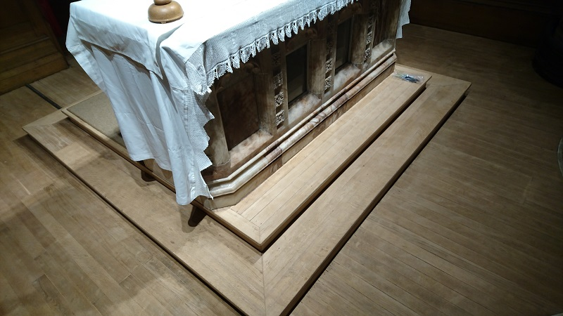 St Andrew Altar-during
