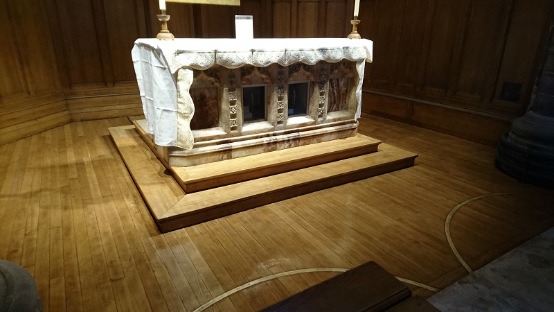 St Andrew Altar-after