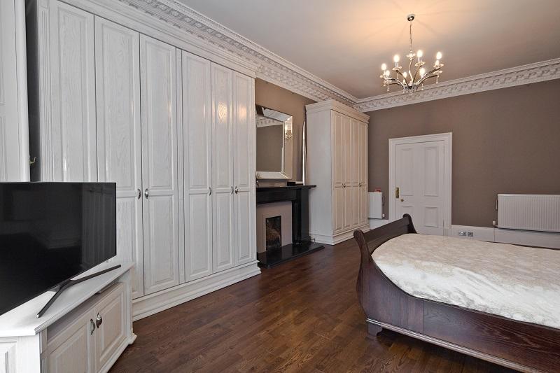 Victorian style master bedroom refit