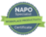 NAPO Specialist Badge - Workplace Produc