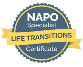 NAPO Specialist Badge - Life Transitions