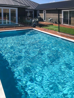8x4m concrete pool by Mobius Pools