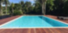 Concrete pool built by Mobius Pools in Jones Rd, Matakana, Auckland