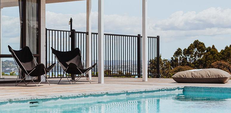 Pool built by Mobius Pools