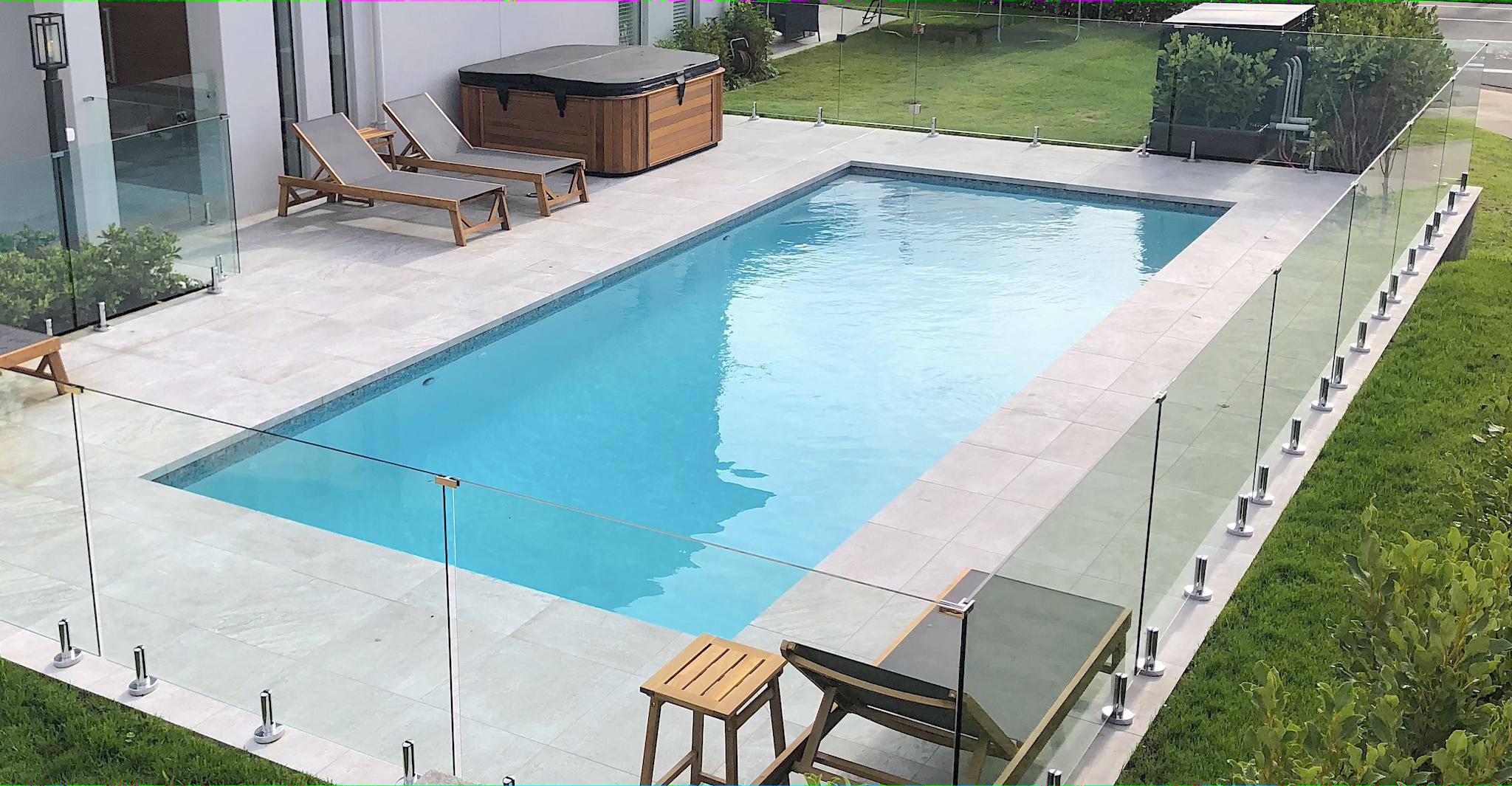 9x3.5m pool by Mobius Pools