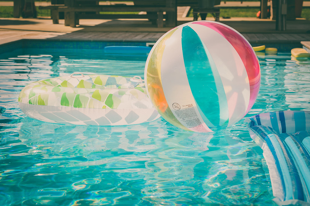A pool is great fun and a real asset to your backyard.
