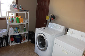 Victory Sober Living House Laundry Room