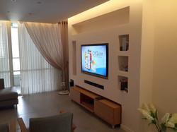 עיצוב הסלון שחר תכנון ובנייה