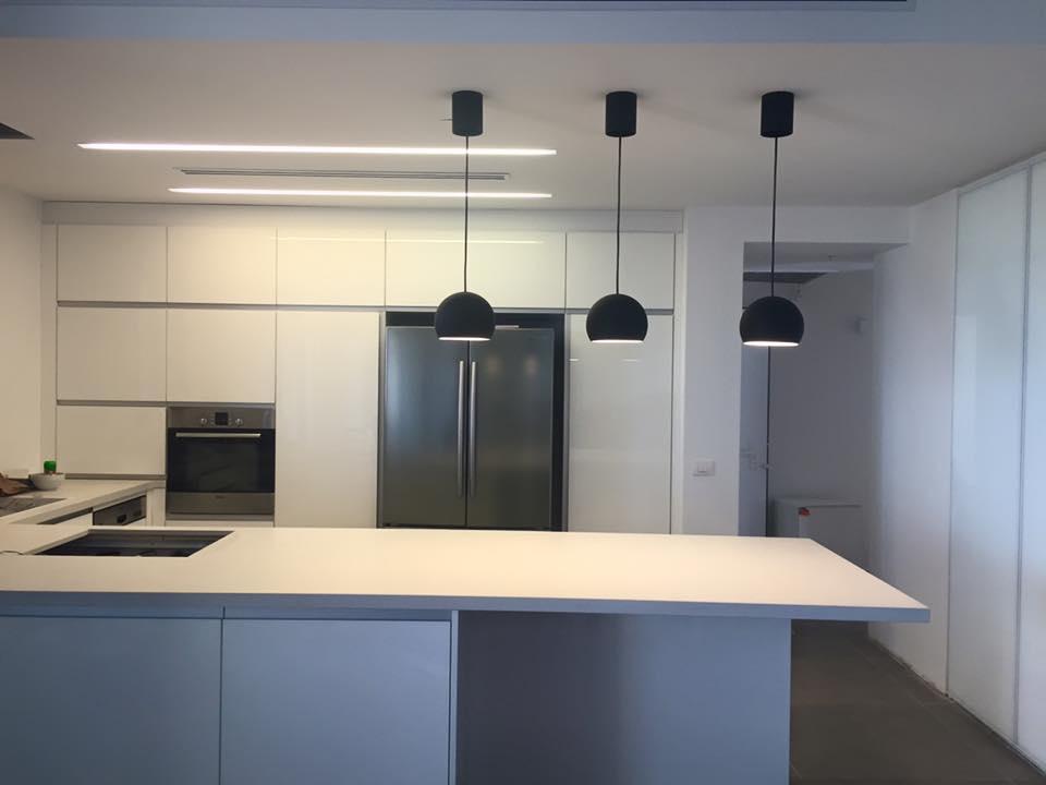 מטבח מודרני למשרד ולבית
