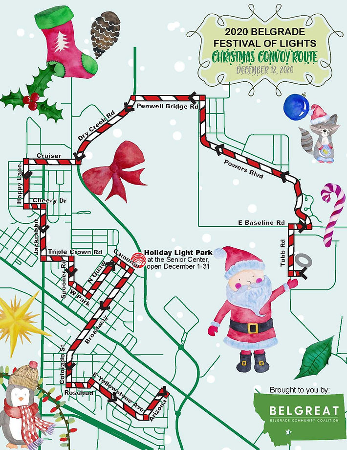 Master - 2020 FoL Christmas Convoy Route