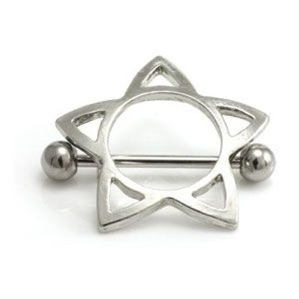 Open Star Nipple Shield