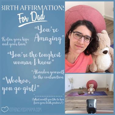 Birth Affirmations