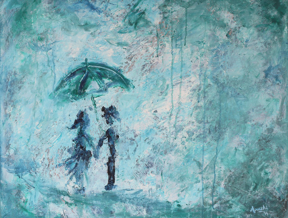 Hold my Hand | acrylic on canvas | SOLD
