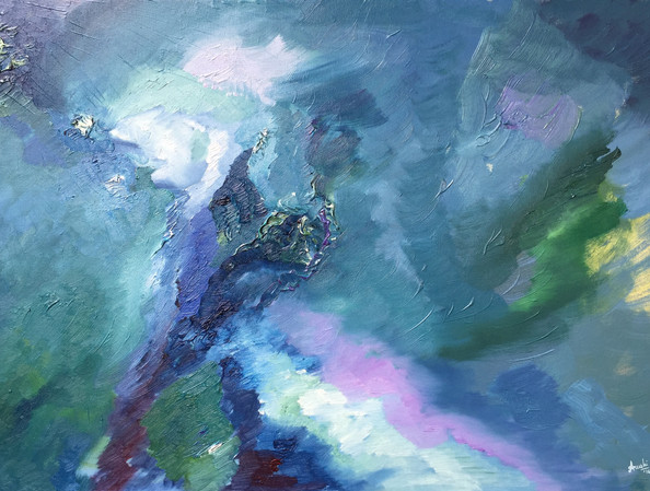 Flow | oil on canvas | 20 x 30 inches | SOLD