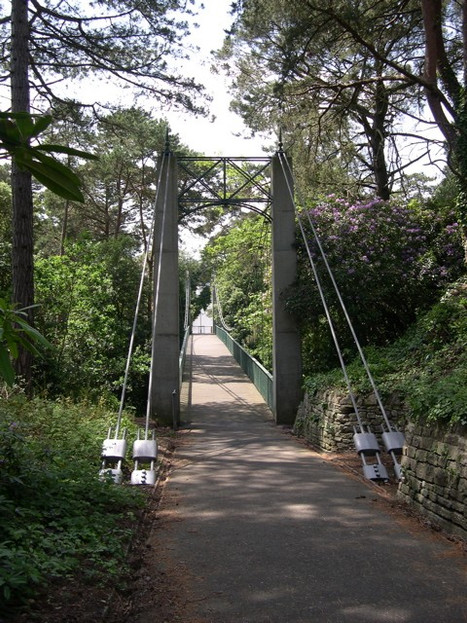 Alum Chime Suspension Bridge