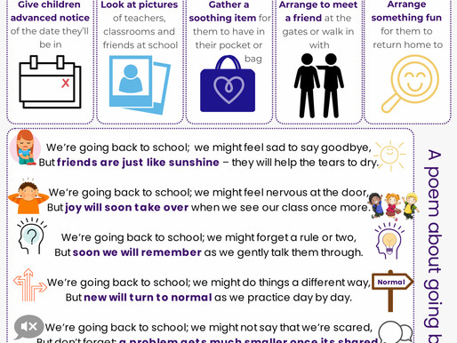 Supporting Mental Health in the Return to School