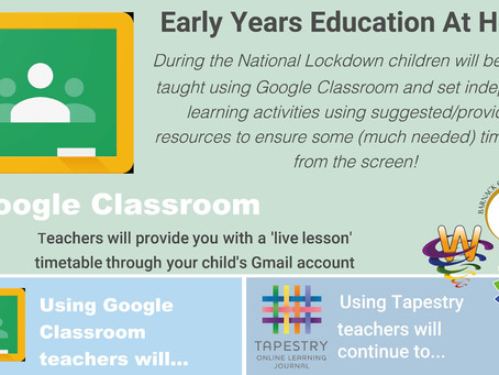Early Years Home Education