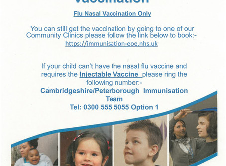 Has your child missed the flu immunisation?