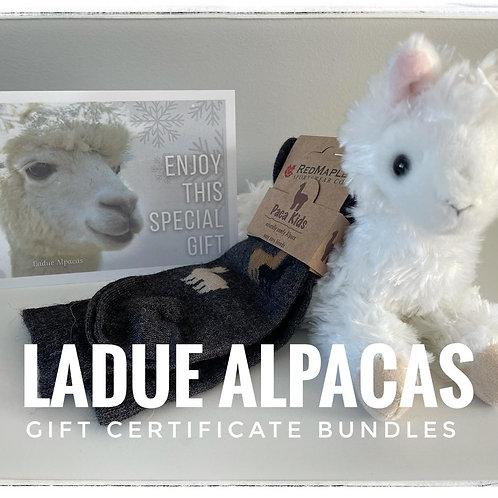 Gift Certificate Bundle