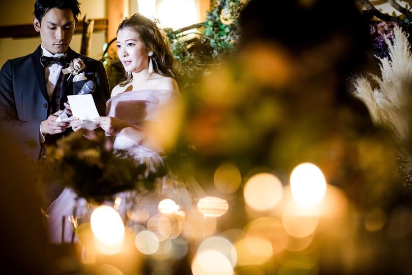 結婚式 手紙