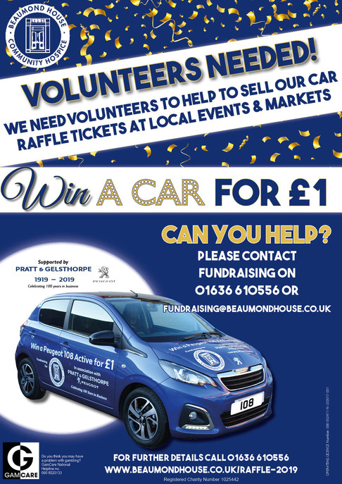 Can you help us to sell raffle tickets?