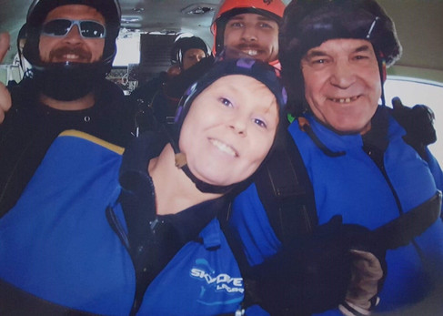 My Skydive for Beaumond House - Dave Thorpe