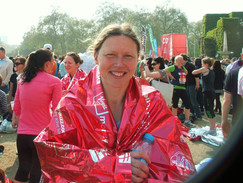 Thank you to Jules, our Virtual London Marathon Runner
