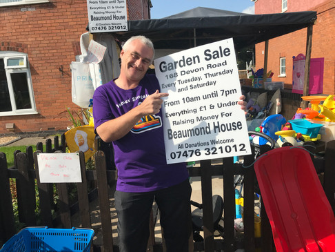 Fundraising Garden Sales for Beaumond House