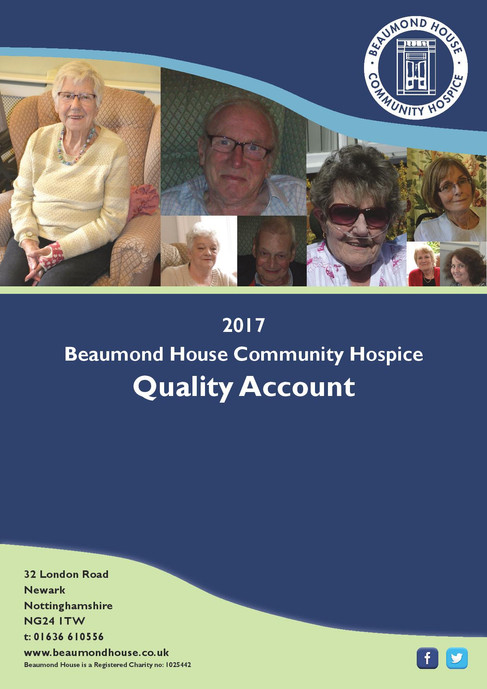 We are pleased to present the Beaumond House Quality Accounts 2016