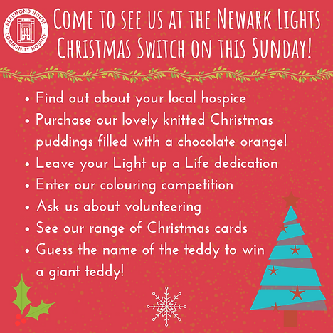 Come to see us at the Newark Light Chris
