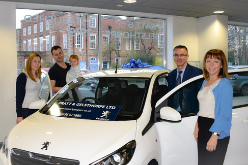 Congratulations to the winner of our car raffle!