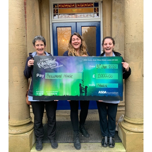 Winners of the Asda Green Token Scheme!