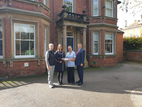 Beaumond House receives a £5,973 grant from the BNA Charity
