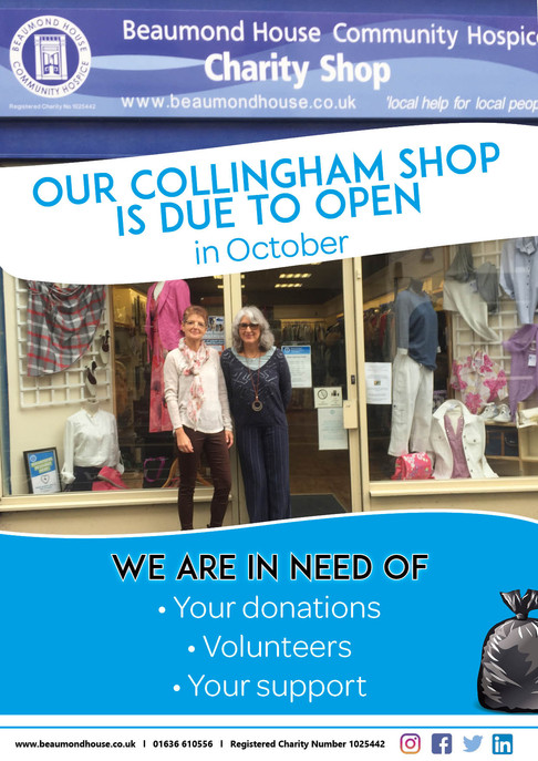 Beaumond House New Collingham Charity Shop