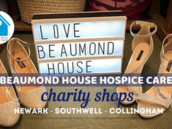 Beaumond House Charity Shop Opening Times w/c 10/05/21