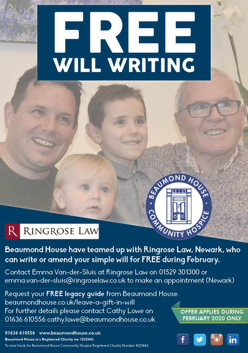 Free Will Writing During February
