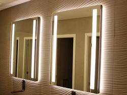 Espelhos iluminados