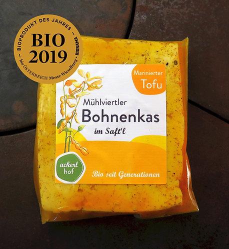 Mühlviertler Bohnenkas im Saft'l