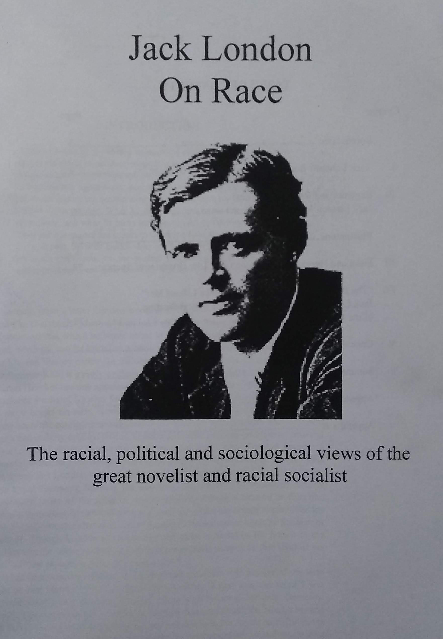 Jack London on race