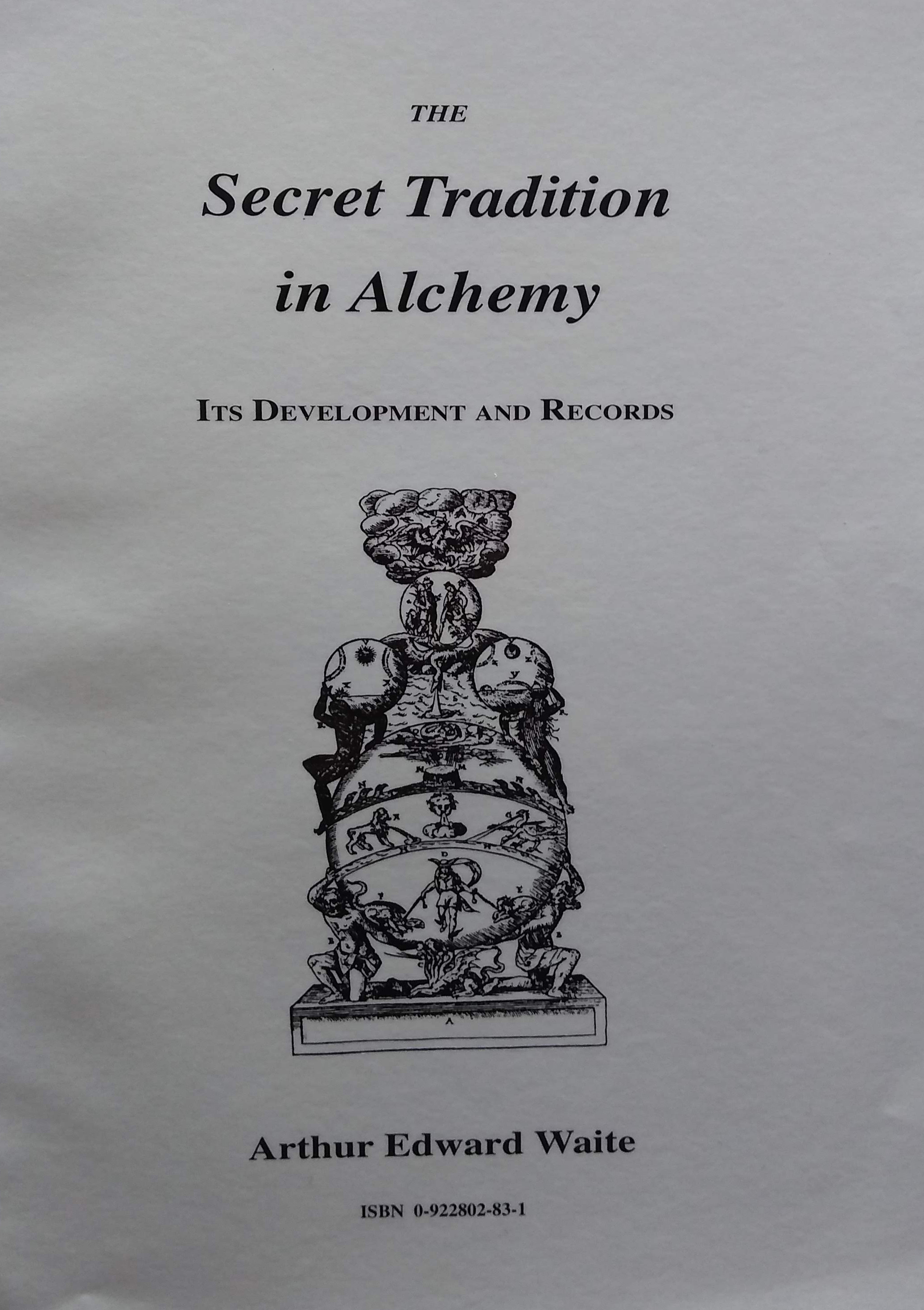 The Secret Tradition in Alchemy