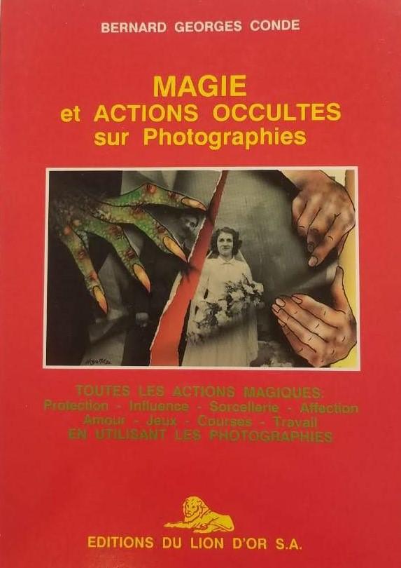 Magie et actions occultes sur photograph